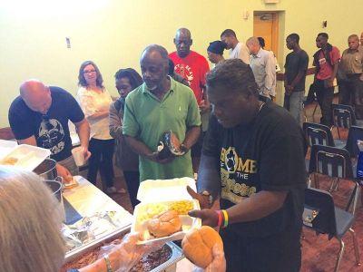 2017 - King's Palace Church - Feeding the Homeless