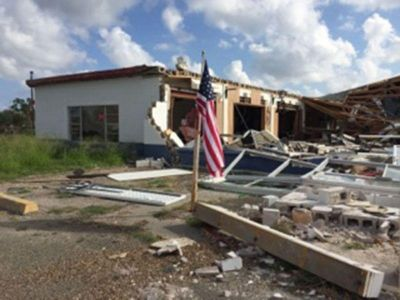 2017 - Outreach - Rockport, Texas. After Hurricane Harvey