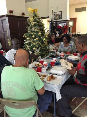 Veterans SRO Downtown Christmas