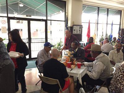 Veterans SRO Downtown Thanksgiving